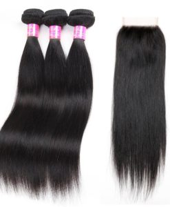 lace bundle with closure
