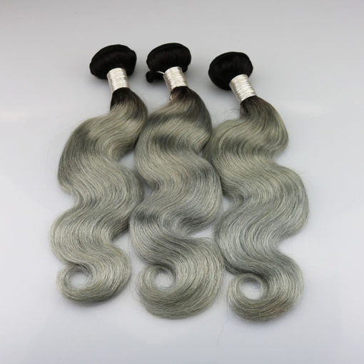 brazilian-weft-ombre-1bt-grey-body-wave