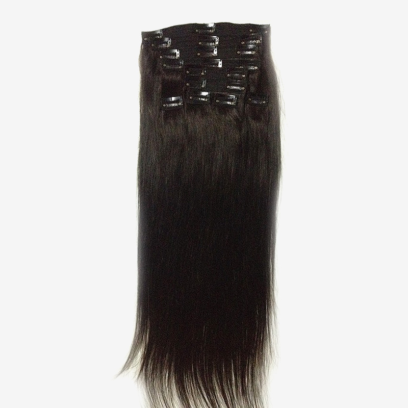 Indian Remy Clip In Hair Extension 2 Silky Straight Xsandys
