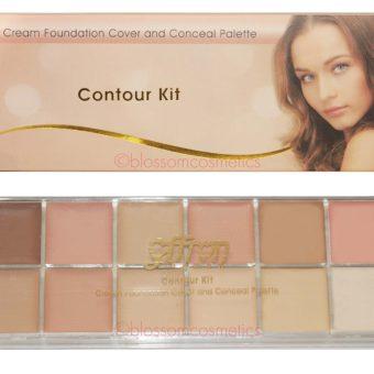 Saffron Contour Palette