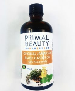 Jamaican Black Castor oil with peppermint