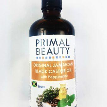 Jamaican Black Castor oil with peppermint