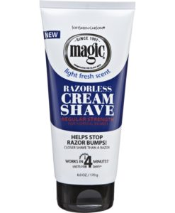 magic bump razorless shave