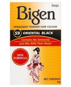 igen Oriental Black Permanent Powder Hair Colour 59